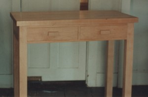 Maple kitchen work table