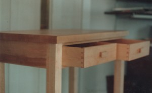 My first well executed dovetailed drawers