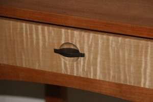 Night table drawer pull