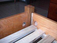 Handmade Hardwood Beds Pencil Post Bed Shaker