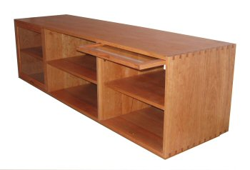 Custom Made TV and Media Cabinets : Mission Furniture : Shaker ...