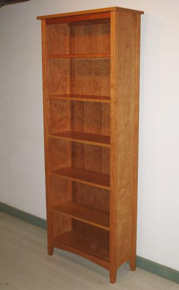 Custom Made Cherry Bookcase