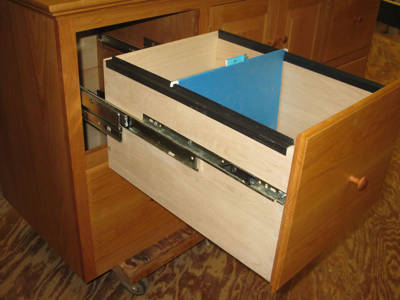 4 Drawer Credenza And File Cabinet Custom Furniture