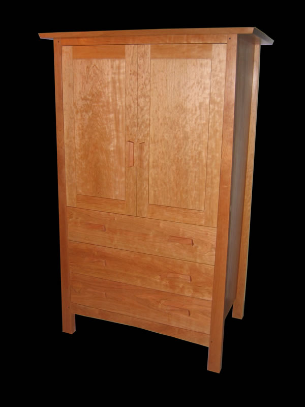Mission Armoire In Cherry