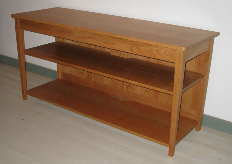 ... Tv Table In Cherry ...