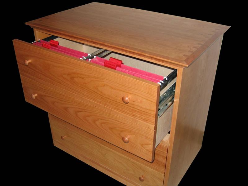 drawers hold letter size folders in 2 rows running front to back or legal size folders