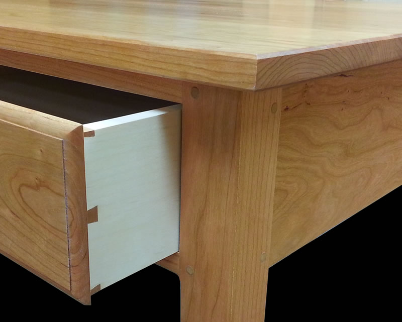 dovetailed drawers pinned mortise u0026 tenon joints