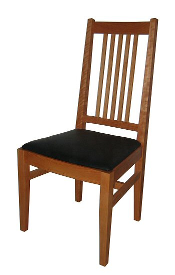 Ordinaire Cherry Mission Side Dining Chair