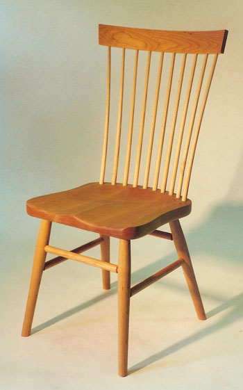 cherry windsor chair & Handmade Windsor Chairs : Continuous Arm Chair : Shaker Chairs ...
