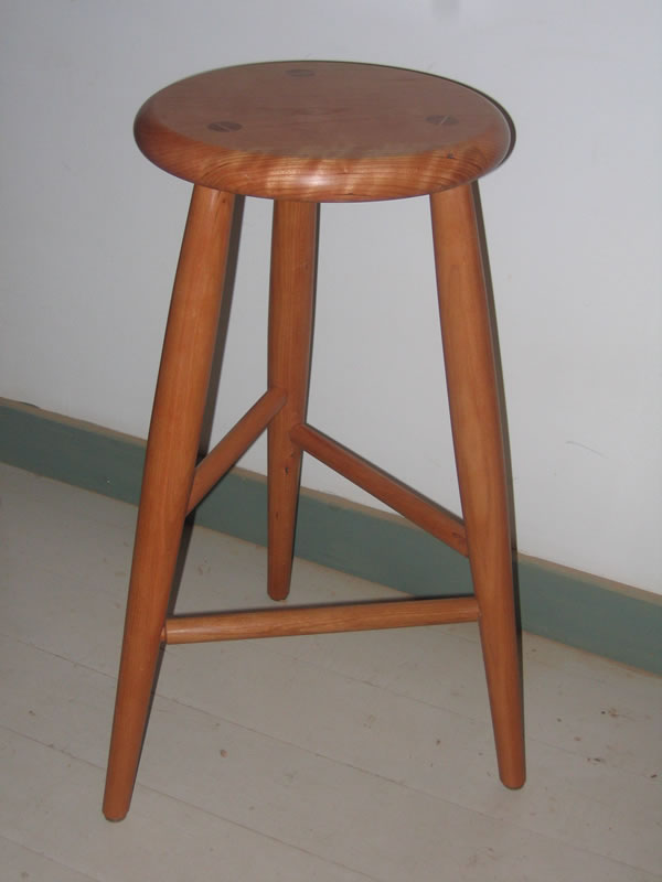 Three Legged Stool ~ Legged stool shaker furniture custom