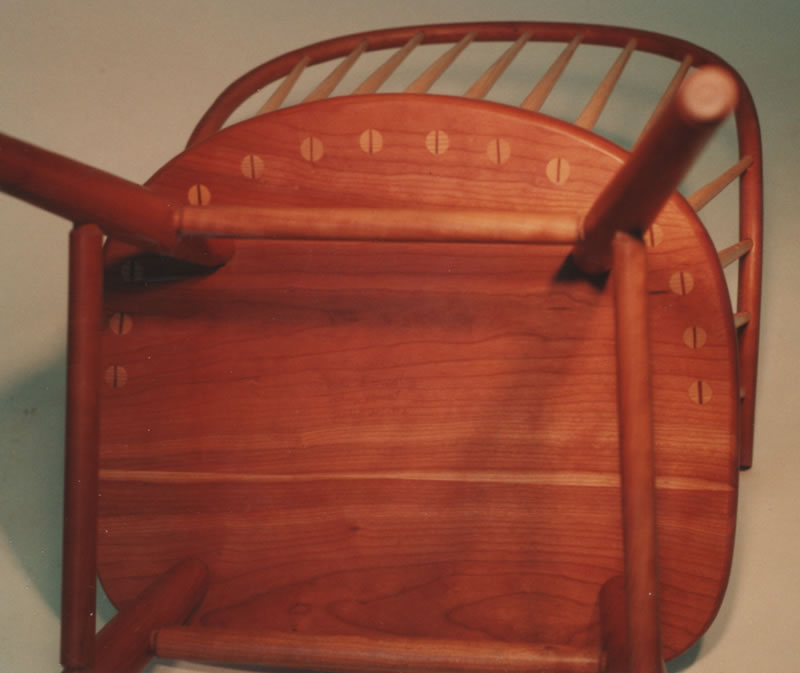 Custom Made Continuous Arm Windsor Chairs