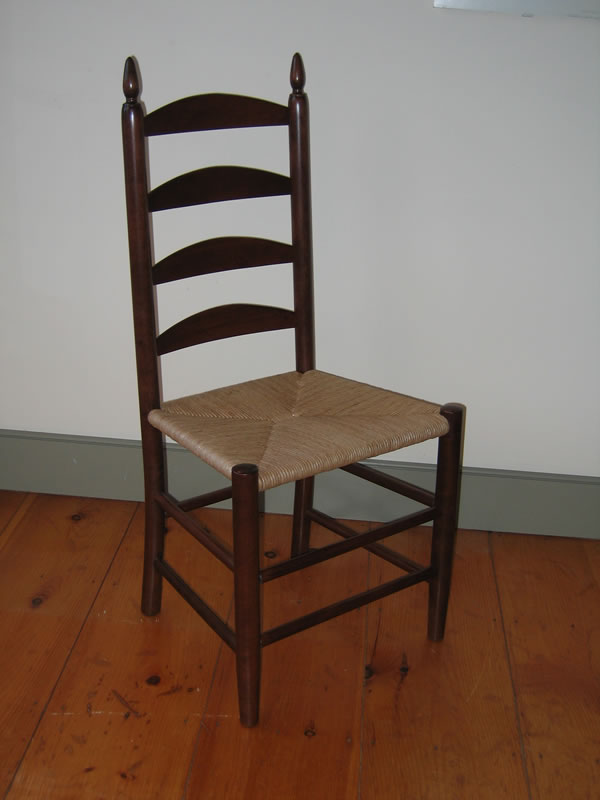 shaker ladder back side chair
