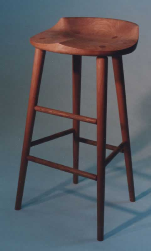 cherry bar stools. Tractor Seat Stool - 31\ Cherry Bar Stools