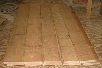 Lumber Selection. Picking Out Lumber For A Table Top