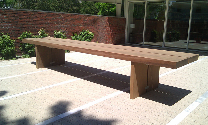 court yard table