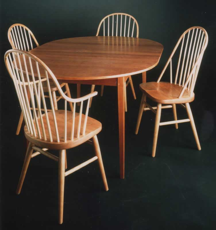 ... Bowback U0026 Continuous Arm Chairs With Oval Extension Table