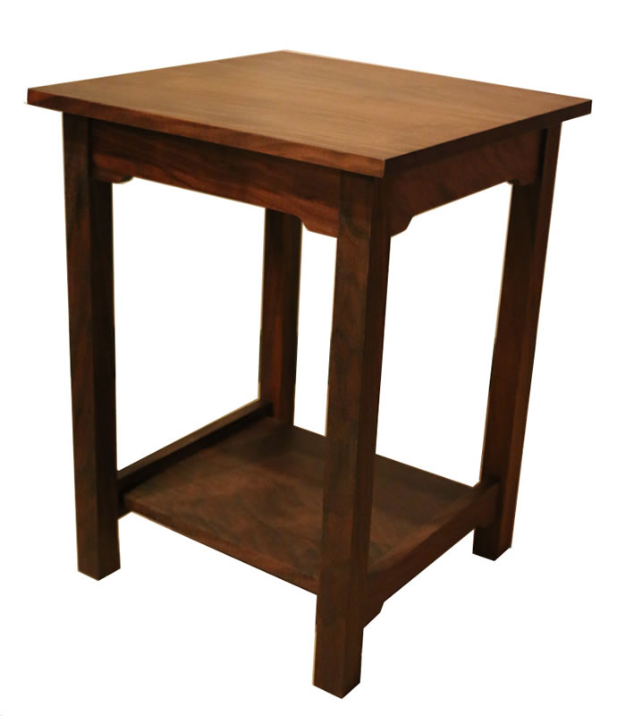custom made night tables, end tables and coffee tables : shaker