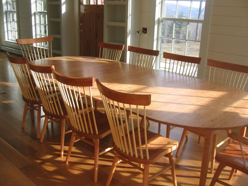 oval table with end extensions amp oval extension tables handmade in vermont from 7252