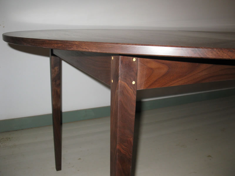 Walnut Extension Table; Walnut Extension Table   Pinned Mortise U0026 Tenon Leg  Joint ...